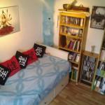Schafzimmer, Bibiothek, Couch, Gästezimmer