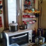 Baustellenküche: Vieles ist hier entstanden...
